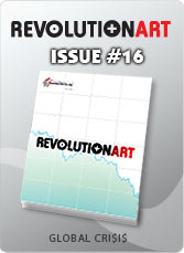 Download REVOLUTIONART international magazine - Issue 16 : Global Crisis