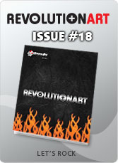 Download REVOLUTIONART international magazine - Issue 18 :Let's Rock