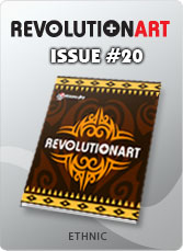 Download REVOLUTIONART international magazine - Issue 20: ETHNIC