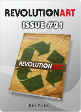 Download REVOLUTIONART international magazine - Issue 21: RECYCLE