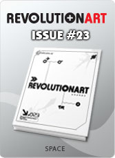 Download REVOLUTIONART international magazine - Issue 23 SPACE