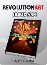 Download REVOLUTIONART international magazine - Issue 24 CLIMATE CHANGE
