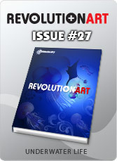 Download REVOLUTIONART international magazine - Issue 27 UNDERWATER LIFE