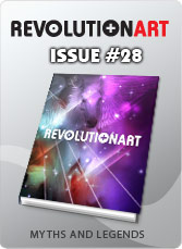 Download REVOLUTIONART international magazine - Issue 28 Myths and Legends