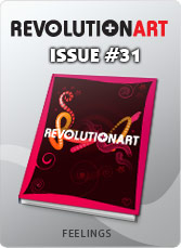 Download REVOLUTIONART international magazine - Issue 31 - Feelings