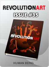 Download REVOLUTIONART international magazine - Issue 35 - Human Being