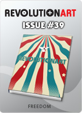 Download REVOLUTIONART international magazine - Issue 39 - Freedom