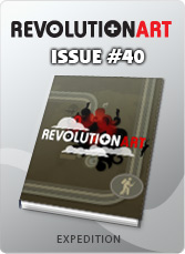 Download REVOLUTIONART international magazine - Issue 40 - Expedition