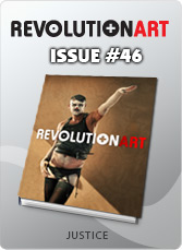Download REVOLUTIONART international magazine - Issue 46 - Justice