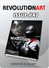 Download REVOLUTIONART international magazine - Issue 47 - Honor and Glory