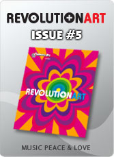 Download Revolutionart Issue #5 - MUSIC PEACE AND LOVE